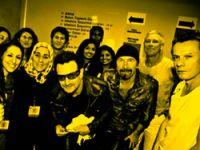 Hanım Tosun, Bono'yla Buluştu