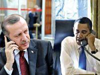 Obama'dan Erdoğan'a telefon
