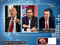 MHP'de ekranda referandum kavgası