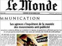 Le Monde'tan Sarkozy'ye tepki