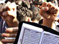 ABD'de Kur'an yakıldı, İranlılar ayağa kalktı