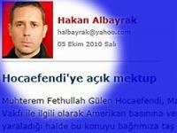 H.Albayrak'tan Gülen'e şok yazı