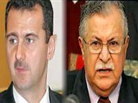 Talabani ile Esad Libya'da görüştü
