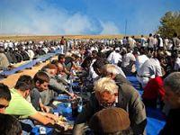 Ahmet Türk'ten 15 bin kişilik barış yemeği