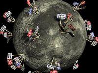 Ay'da araziler kapış kapış!