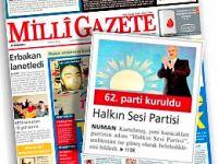 Milli Gazete, Haspar'ı ti'ye aldı