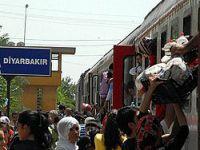 Diyarbakır Garı'ndan, umuda yolculuk Video