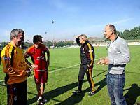 Galatasaray'a Taffarel ziyareti