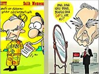Günün en anlamlı karikatürleri