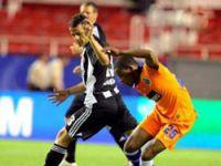 Beşiktaş'tan kupaya hüzünlü veda