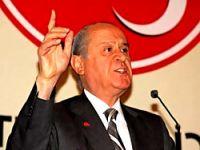 """Bahçeli, Erdoğan'a """"Şerefsiz"""" dedi"""