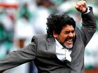 Ahmedinejad, Maradona'yı istiyor