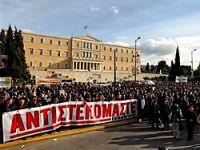 Yunanistan'da isyan devam ediyor