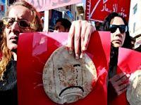 Ürdün'de de protestolar başladı