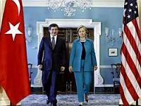 Davutoğlu, Clinton ile görüştü