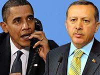 Erdoğan, Obama ile telefonla görüştü