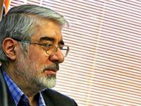 Muhalif lider Musavi'ye abluka