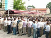 Selahaddin Özer Ağabey Fatih Camii'nden Uğurlandı!