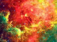 Uzayda göz kamaştıran güzellikler