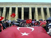 'Balyoz' sanıklarının aileleri Anıtkabir'de!