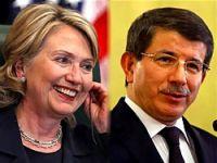 Clinton, Davutoğlu krizi görüştü