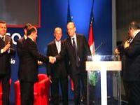 Barzani 'Atlantik Barış Ödülü'nü aldı