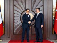 Sarkozy, Çankaya Köşkü'nde