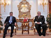 Gül, Talabani ile Kuveyt'te görüştü