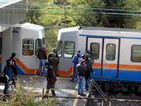 İstanbul'da metro raydan çıktı