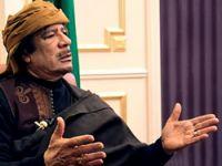 Kaddafi ateşkes istedi!
