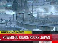 Japonya'da 8,9 büyüklüğünde deprem