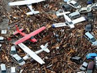 Japonya'da 28 savaş uçağı zarar gördü