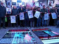 Gazeteciler bir kez daha Taksim'de