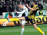 Bursaspor'da düşüş sürüyor