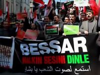 Suriye İstanbul'da protesto edildi!