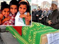 Cenaze töreninde idam sloganları