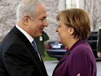 Merkel ile Netanyahu bir araya geldi
