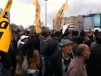 Taksim'de YSK vetosuna protesto