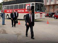 Pamukoğlu'na Mersin'de miting şoku