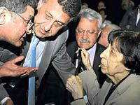Rahşan Ecevit protesto edildi