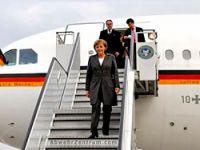 İran, Merkel'in uçağına izin vermedi