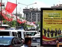 Diyarbakır'da MHP bayrakları!