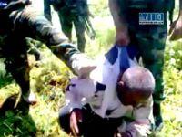 Suriye askerlerinin korkunç işkencesi