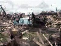 Kasırga kasabayı haritadan sildi