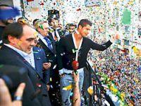 İstanbul'da Ronaldo izdihamı yaşandı