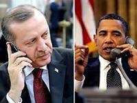 Erdoğan ve Obama telefonla görüştü