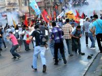Dicle protestosuna polis müdahalesi