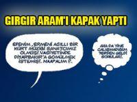 Gırgır Aram Tigran'ı kapak yaptı