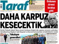 Taraf karpuzu sadece İstanbul'da kesti