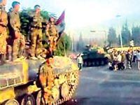 Suriye tankları Lübnan sınırında